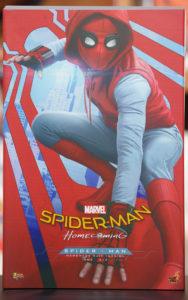 スパイダーマン ホームメイド版 箱正面