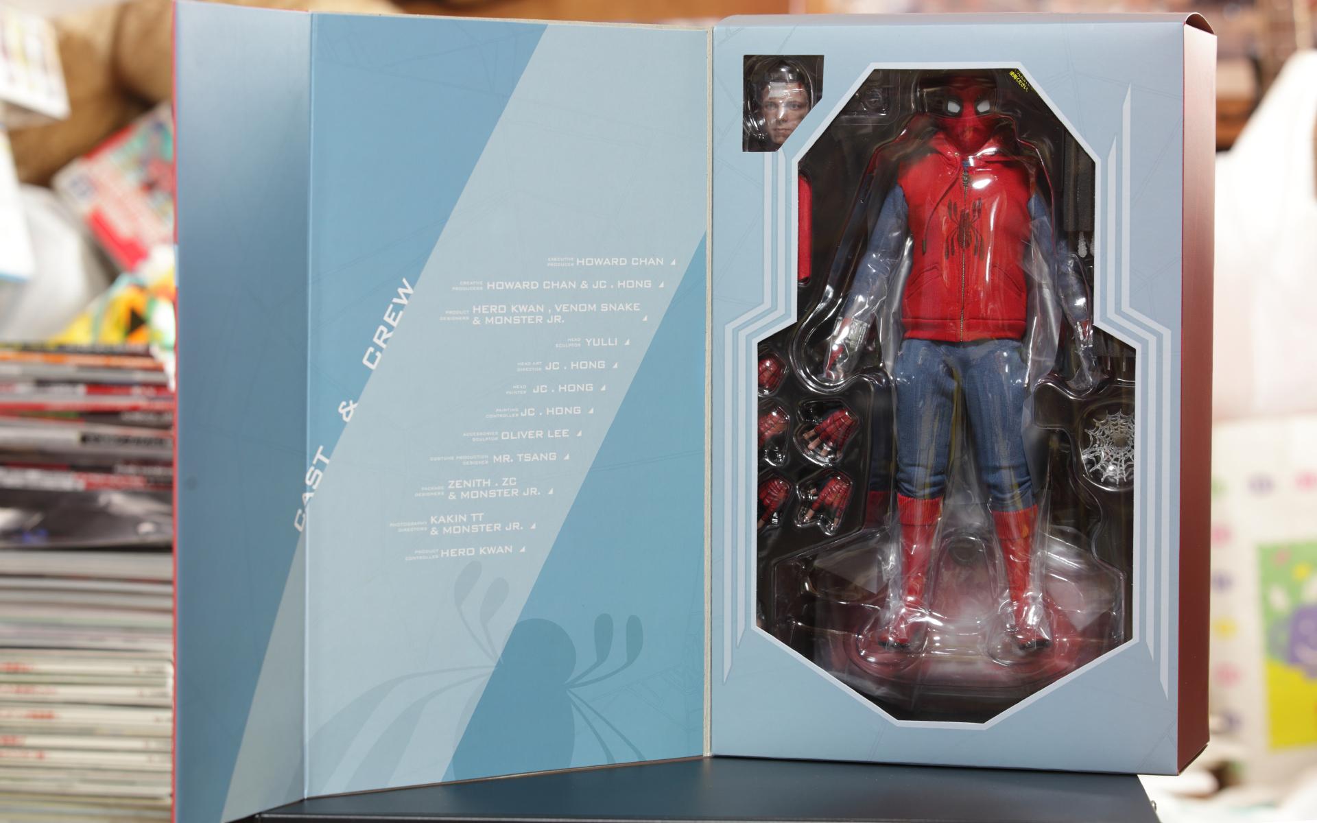 スパイダーマン ホームメイド版 箱開き