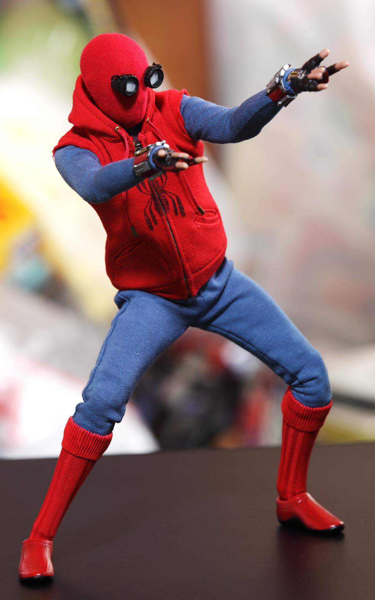 スパイダーマン ホームメイド版ポーズ2